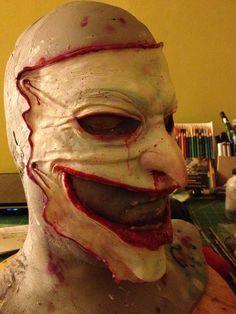 Joker Skin Mask - Latex