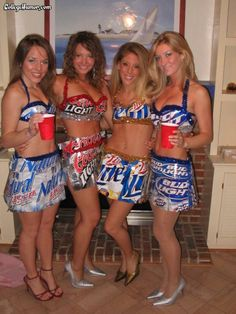 Looking for the best DIY Halloween costume ideas? Be beer! Check out the best DIY beer costume photos and craft your Halloween costume now! Abc Party Costumes, Best Diy Halloween Costumes, Girl Costumes, Halloween Party, Costume Ideas, Costume Parties, Group Halloween, Halloween Queen, Anything But Clothes Party