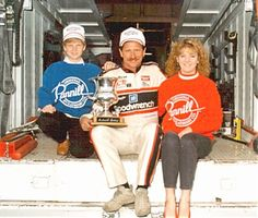 Dale Earnhardt Photo Album.  I love this picture.  Kelly was right there crying with Jr. on his Daytona 500 win!