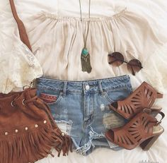 Bohemian inspired #outfit #ootdfash