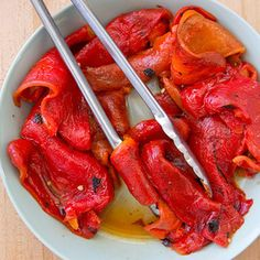 the best grill roasted peppers