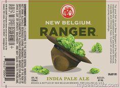 New Belgium Shows Off NEW Ranger IPA, 1554 & Shift Packaging