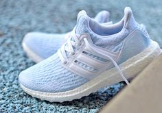 half off b7130 0126a Parley adidas Ultra Boost Ice Blue