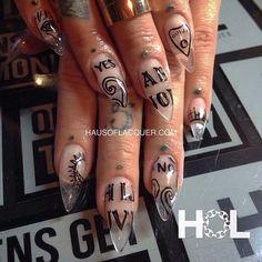 Crown The Queens #Quija board manicure