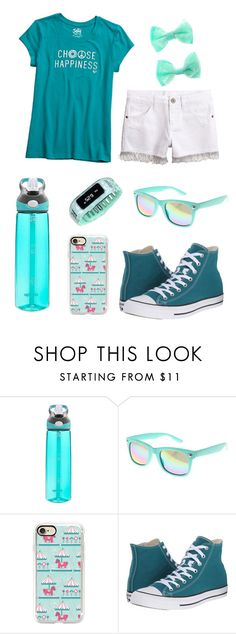 """""""Untitled #528"""" by whitney555 ❤ liked on Polyvore featuring Contigo, claire's, Casetify and Converse"""