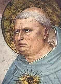 Thomas Aquinas and Medieval Culture / Philosophy: Thomas Aquinas by Fra Angelico