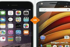 iPhone 6S Plus ou Moto X Force: veja comparativo. Cada um tem seus próprios benefícios: enquanto o iPhone 6S Plus tem tela de 5.5 polegadas com alta resolução, o Moto X Force oferece um display inquebrável, segundo a fabricante. http://www.blogpc.net.br/2016/08/Comparativo-entre-o-iPhone-6S-Plus-e-o-Motorola-Moto-X-Force.html