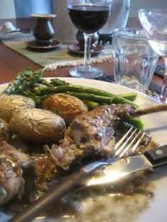 Rabbit in Mustard Sauce -- Amy Finley Recipe