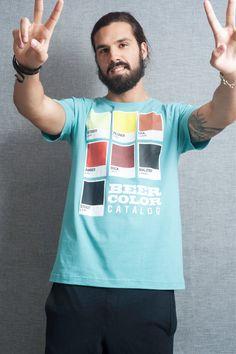 Camiseta Catálogo de Cerveja
