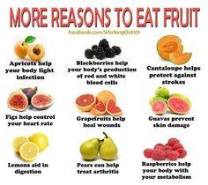 More reason to eat fruit