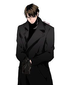 #ushijima #hq  Il fait trop peur la vie  on dirait qu'il va venir pour nous ( me) tuer  un assassin l'truc