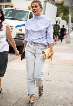 O truque de styling que deixa o seu look muito mais cool.