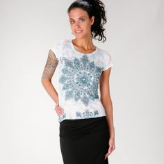 Prana Chai Tee in Womens Apparel at Vickerey Soul Clothing, Chai, Tees, Shirts, Active Wear, Cool Outfits, Clothes For Women, How To Wear, Don't Care