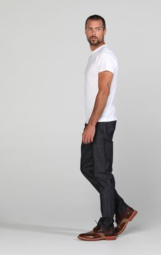 James Jeans Trouser No 1328 in Raw. Shop Now: http://jamesjeans.us/trouser-no-1328-raw