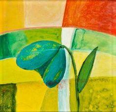 """Belle Flower Blue"" by bessesdotter Paintings, Studio, Flowers, Art, Art Background, Painting Art, Painting, Studios, Kunst"