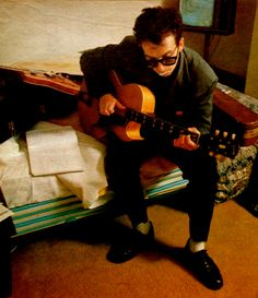 Elvis Costello 1982 by Annie Leibovitz