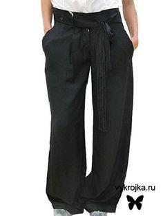 Schnittmuster Hose - Free Pants Pattern
