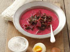 Rote-Bete-Suppe auf polnische Art (Botwinka) - smarter - Zeit: 30 Min. | eatsmarter.de