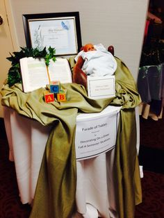 TABLESCAPE: Holiness Table Baby Dedication By Chris Thomas