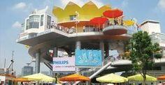 Expo paviljoen Holland on the expo in Shanghai