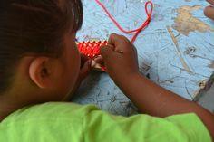 Master the art of needlework with Corazon! #nonprofit #charity #corazon