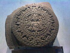 Piedra del sol, sala mexica, MNA.