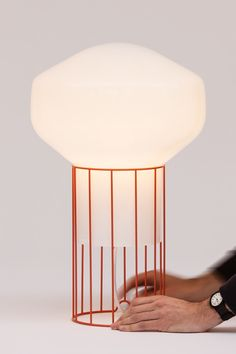 pinned by barefootstyling.com  Nuage lumineux par Guillaume Delvigne