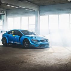 This weekend Volvo takes on the @FIA_WTCC FIA World #TouringCar Championship with two #Volvo S60 #Polestar TC1 race cars