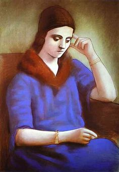 Pablo Picasso (1881–1973) Portrait of Mme Olga Picasso 1922
