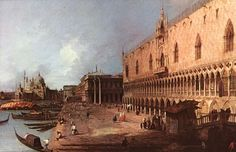 Doge Palace by CANALETTO #art