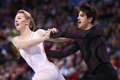 Alexandra Stepanova and Ivan Bukin of Russia skate in Free Dance Program during Day 4 of the ISU World Figure Skating Championships 2016 at TD Garden on March 31, 2016 in Boston, Massachusetts.