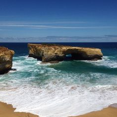 A beautiful day on the Great Ocean Road. The colours are inspiring! #greatoceanroad #summer #roadtrip #landscape #12apostles #australia by missnjaytee http://ift.tt/1ijk11S