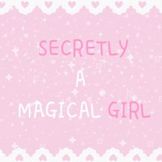 "JK, it's not actually what you would call a ""secret""."