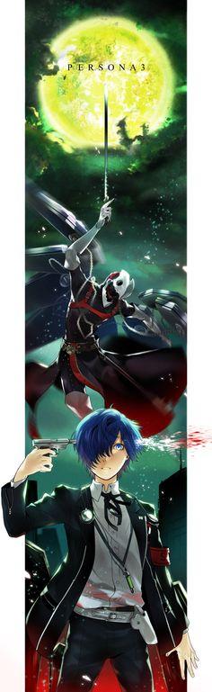 Artist: Kyou Zip | Shin Megami Tensei: Persona 3 | Thanatos | Yuuki Makoto