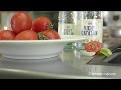 Recetas Vichy Catalan #22 (Gazpacho al Vichy Catalan con sus verduritas ...