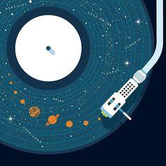 A dança do universo. A nossa música.