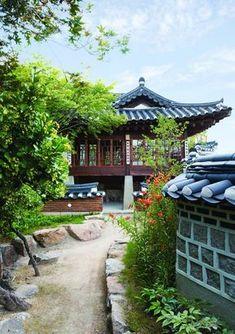 South Korea Seoul, South Korea Travel, Korean Traditional, Traditional House, Asian House, Le Havre, Korean Art, Landscape Photographers, Landscape Photos