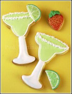 Decorated Margarita Cookies!