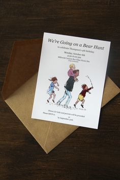 All Time Ever – Going on a Bear Hunt Party
