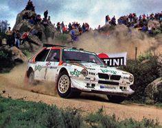 Lancia Delta S4 Dario Cerrato - Geppi Cerri Rally Costa Smeralda 1986