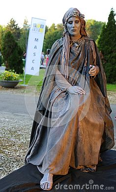 Photo about Living statue - silence of the stone at international festival of living statues in Bucharest, Romania. Image of acting, noble, costume - 94018828 Living Statue, Bucharest Romania, International Festival, Statues, Entertainment, Stock Photos, Stone, Image, Rock