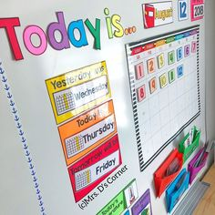 MORNING ROUTINE Calendar time in the classroom is my favorite time of day Its first thing in the morning and sure Im a morningMORNING ROUTINE Calendar time in the classroom is my favorite time of day Its first thing in the morning and sure Im a morning Kindergarten Classroom Setup, Classroom Routines, Kindergarten Lesson Plans, Classroom Organisation, First Grade Classroom, Special Education Classroom, Classroom Design, Classroom Themes, Calendar Time Kindergarten