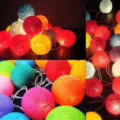 Some great lamps to light up the room! Cute!