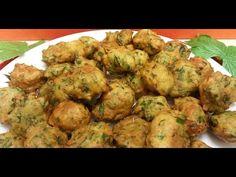Receta: Deliciosos Buñuelos de Acelga - La Cocinadera - YouTube