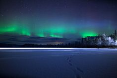Lapland and the Northern Lights by The Aurora Zone, via Flickr Zoeken