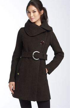 Soia & Kyo Asymmetrical Collar Coat