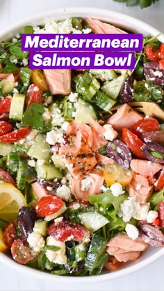 Best Salad Recipes, Salad Recipes For Dinner, Dinner Salads, Whole Food Recipes, Cooking Recipes, Delicious Salad Recipes, Meal Prep Salads, Salads For Lunch, Simple Salad Recipes
