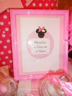 Minnie Mouse Birthday Party Ideas | Photo 8 of 13 | Catch My Party