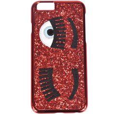 Chiara Ferragni Flirting Iphone 6/6s Case ($23) ❤ liked on Polyvore featuring accessories, tech accessories, rosso and chiara ferragni