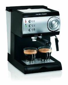 Hamilton Beach Espresso Maker,$74.99